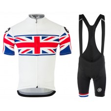 2017 Asos UK Country Team Cycling Jersey And Bib Shorts Set