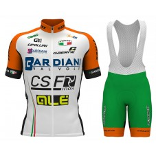 2017 Bardiani CSF Cycling Jersey And Bib Shorts Set