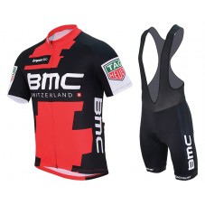 2017 BMC Racing Team Cycling Jersey And Bib Shorts Set
