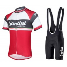 2016 Santini Exclusive Foscagno Cycling Jersey And Bib Shorts Set