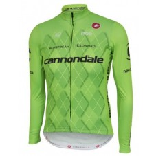 2016 Cannondale Team Green Pro Cycling Long Sleeve Jersey