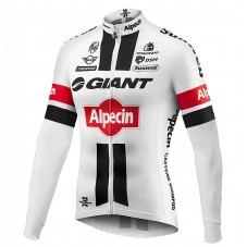 2016 Giant Alpecin TDF Edition White Cycling Long Sleeve Jersey