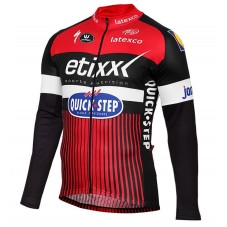 2016 Etixx-Quick Step TDF Edition Red Cycling Long Sleeve Jersey