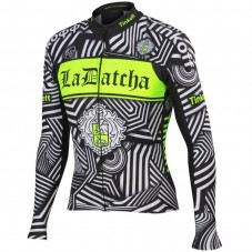 2016 Tinkoff Training Black Cycling Long Sleeve Jersey
