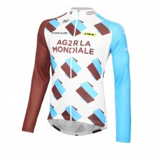 2016 Team Ag2r Cycling Long Sleeve Jersey