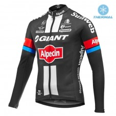 2016 Team Giant-Alpecin Thermal Long Sleeve Cycling Jersey