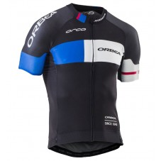 2016 Orbea Team Pro Black-Blue Cycling Jersey