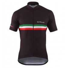 2016 De Marchi PT Italy Flag Black Cycling Jersey