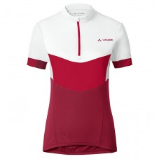 2017 Vaude Advanced II Women's White-Red Cycling Jerseys