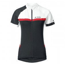 2017 Vaude Pro II Women's White-Red-Black Cycling Jerseys