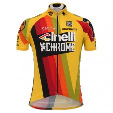 2017 Cinelli Chrome Yellow Cycling Jerseys