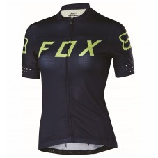 2017 Team FOX Women's Black-Yellow Cycling Jerseys