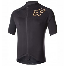 2017 Team FOX Black-Gold Cycling Jerseys