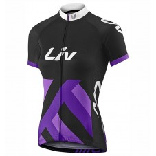 2017 Liv Race Day Women's Black-Purple Cycling Jerseys