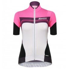 2017 Santini Queen Of The Mountains Women's Fuxia Cycling Jerseys