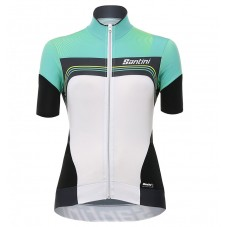 2017 Santini Queen Of The Mountains Women's Green Cycling Jerseys