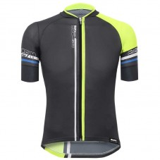 2017 Santini Airform 2.0 Black-Yellow Cycling Jerseys