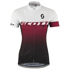 2017 Scott RC Women's White-Red Cycling Jerseys