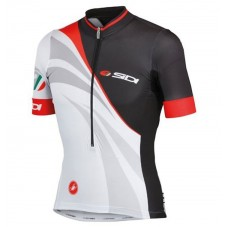 2017 Sidi Black-White Cycling Jerseys