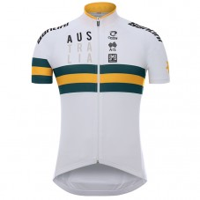2017 Australia Country Team White Cycling Jersey