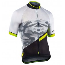 2017 Northwave Blade 2.0 Camouflage White Cycling Jersey