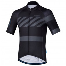 2017 Shimano Breakaway Print Black Cycling Jersey