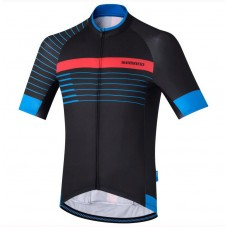 2017 Shimano Breakaway Print Black-Blue Cycling Jersey