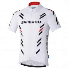 2017 Shimano Performance Print White Cycling Jersey