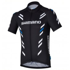2017 Shimano Performance Print Black Cycling Jersey