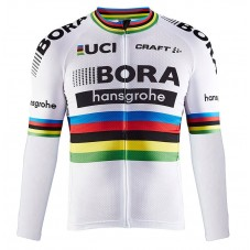 2017 Team Bora Hansgrohe World Champion Long Sleeve Cycling Jersey