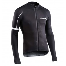 2017 Northwave Blade NW Black Long Sleeve Cycling Jersey