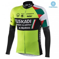 2017 Euskadi Kalas  Thermal Long Sleeve Cycling Jersey