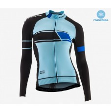 2017 Orbea Team LS Pro Women Thermal Long Sleeve Cycling Jersey