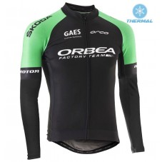 2017 Orbea Factory Team Thermal Long Sleeve Cycling Jersey