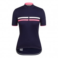 2017 Rapha Brevet Blue-Pink Women Cycling Jersey