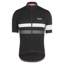 2017 Rapha Brevet Black-White Cycling Jersey