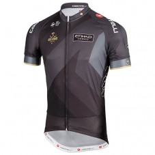 2018 Abu Dubai Tour Black Cycling Jersey