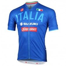 2018 Team Italy 2.0 Blue Cycling Jersey