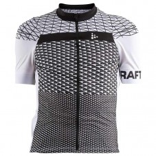 2018 Craft Route White Cycling Jersey