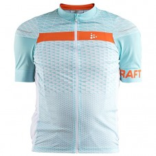 2018 Craft Route Blue Cycling Jersey