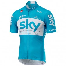 2018 Team SKY Blue Cycling Jersey