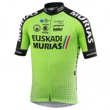 2018 Euskadi Murias Team Green Cycling Jersey
