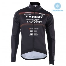 2018 Trek Selle San Marco Black Thermal Long Sleeve Cycling Jersey