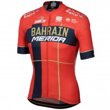 2019 Merida Bahrain Red Cycling Jersey