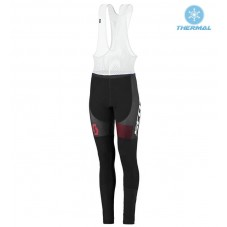 2016 Scott RC White-Black-Red Women Thermal Long Cycling Bib Pants