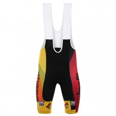 2017 Cinelli Chrome Yellow Cycling Bib Shorts