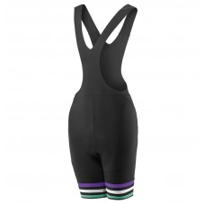 2017 Liv Zebra Women's Black Cycling Bib Shorts