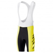 2017 Shimano Performance Print Yellow Cycling Bib Shorts