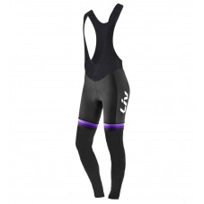 2017 Liv Race Day Women's Black-Purple Cycling Bib Pants