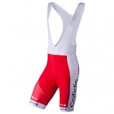 2018 Cofidis Solutions Credits Cycling Bib Shorts